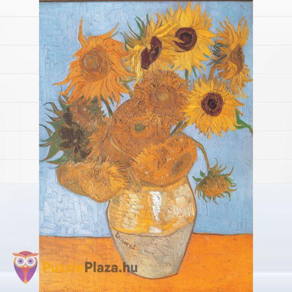 1000 darabos Van Gogh - Napraforgók Puzzle - Clementoni Múzeum Kollekció 31438 kirakott kép