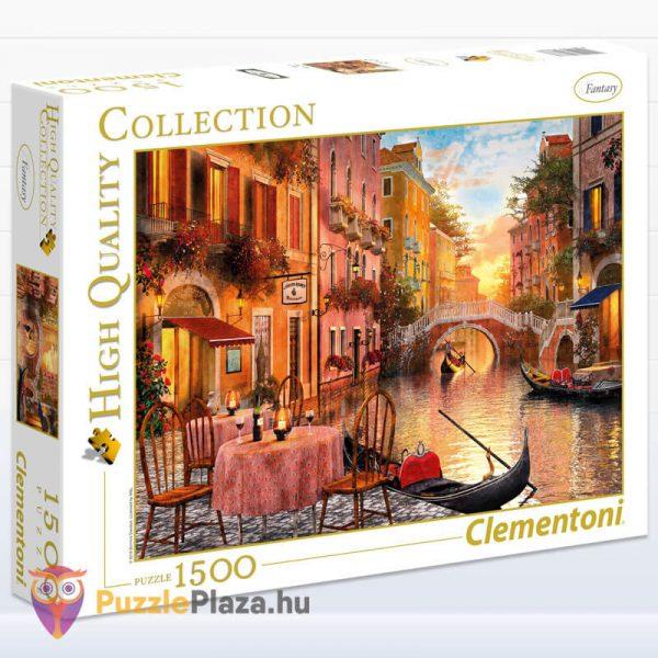 1000 darabos Velence, Olaszország Puzzle - High Quality Collection, Clementoni 31668