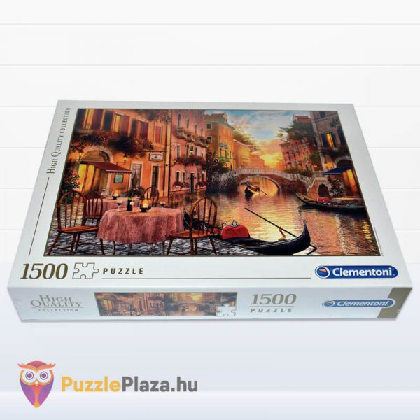 1000 darabos Velence, Olaszország Puzzle - High Quality Collection, Clementoni 31668 fektetve