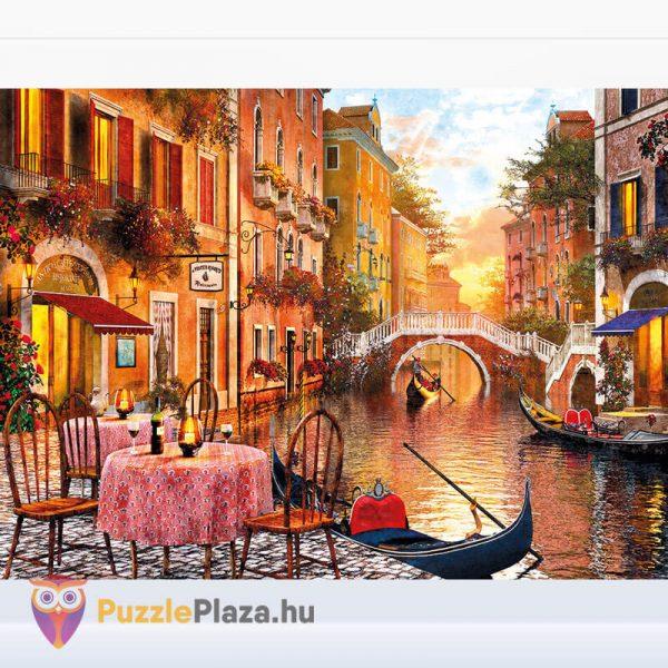 1000 darabos Velence, Olaszország Puzzle - High Quality Collection, Clementoni 31668 kirakott kép