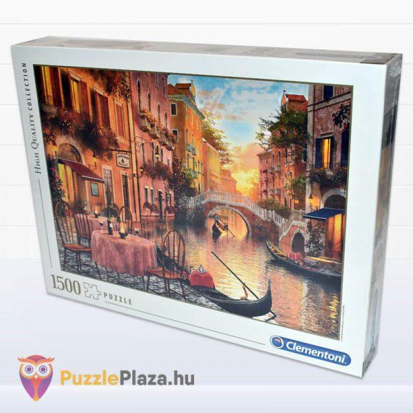 1000 darabos Velence, Olaszország Puzzle - High Quality Collection, Clementoni 31668 oldalról