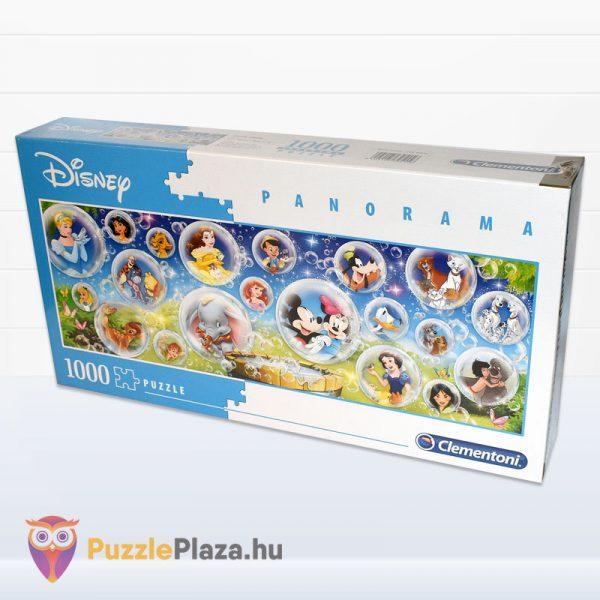 1000 darabos Walt Disney Panoráma Puzzle - Clementoni 39515 elforgatva