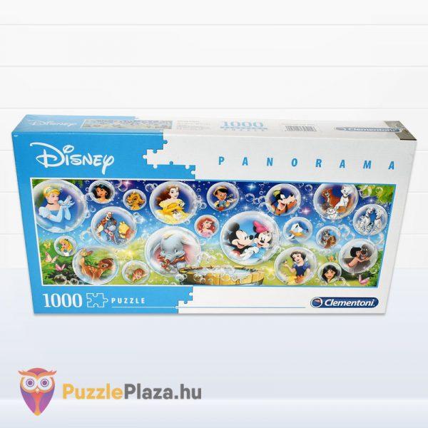 1000 darabos Walt Disney Panoráma Puzzle - Clementoni 39515 előről