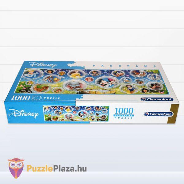 1000 darabos Walt Disney Panoráma Puzzle - Clementoni 39515 fektetve
