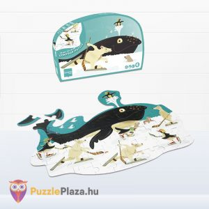 60 darabos bálna forma puzzle - Scratch Europe