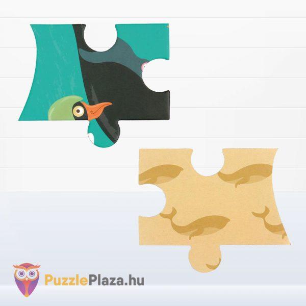 60 darabos bálna forma puzzle - Scratch Europe - kirakó darabkái