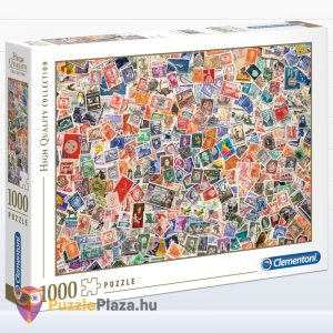 1000 darabos Bélyegek puzzle - Clementoni High Quality Collection 39387