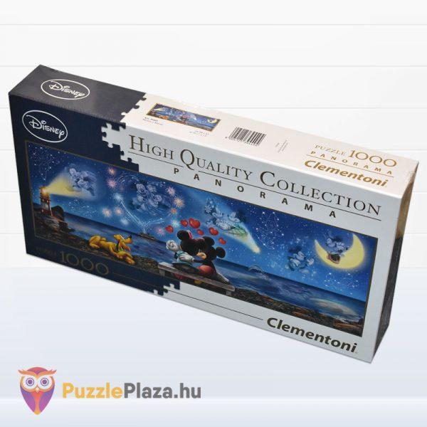 1000 darabos disney mickey, minnie és plútó - Clementoni High Quality Collection 39449 oldalról