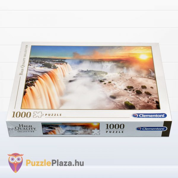 1000 darabos Machu Picchu tájkép puzzle - High Quality Collection - Clementoni 39604 fektetve