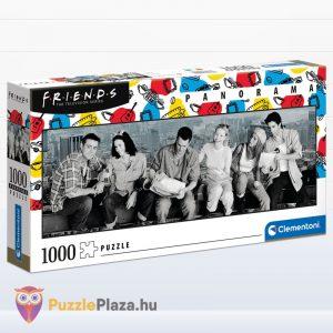 1000 darabos jóbarátok panoráma puzzle. Clementoni 39588