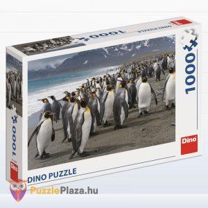 1000 darabos király pingvin puzzle - Dino