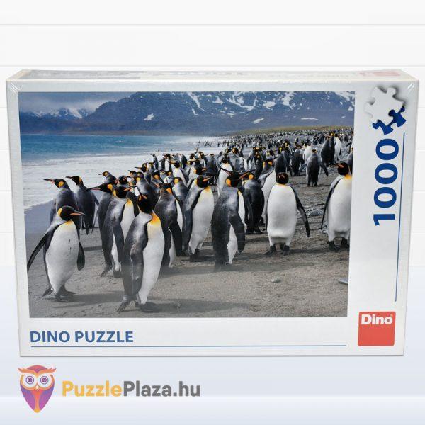 1000 darabos király pingvin puzzle - Dino előről