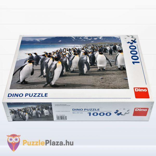 1000 darabos király pingvin puzzle - Dino fektetve