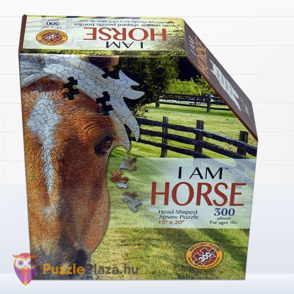 300 darabos ló forma puzzle mini. Wow Toys 6006 - előről