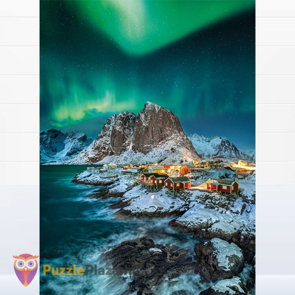 1000 darabos Lofoten szigetek puzzle - Clementoni High Quality Collection 39601 kirakott kép