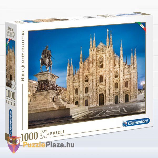 1000 darabos Milánó puzzle a milánói dómról - Clementoni High Quality Collection 39454