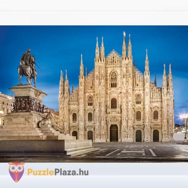 1000 darabos Milánó puzzle a milánói dómról - Clementoni High Quality Collection 39454 kirakott kép