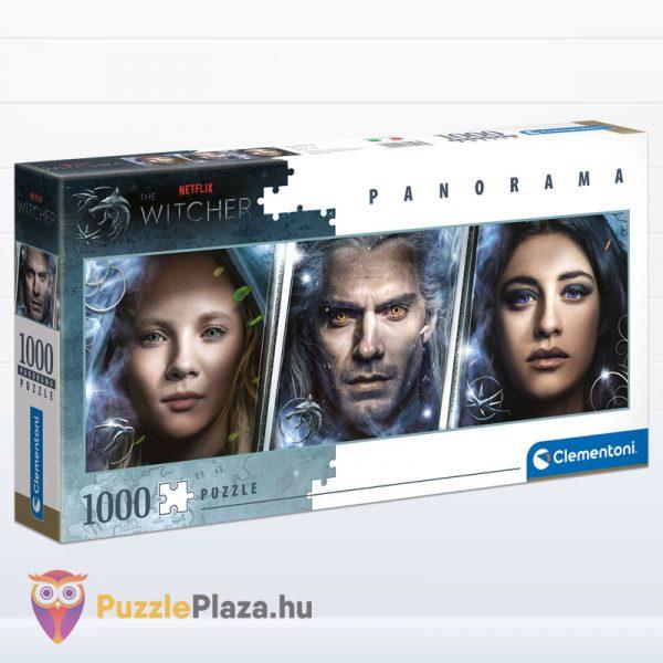 1000 darabos Vaják (Witcher) panoráma puzzle - Clementoni 39593