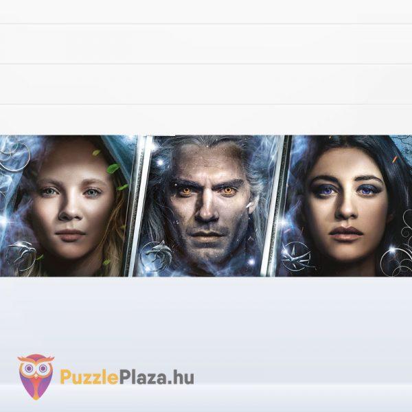 1000 darabos Vaják (Witcher) panoráma puzzle - Clementoni 39593 kirakott kép