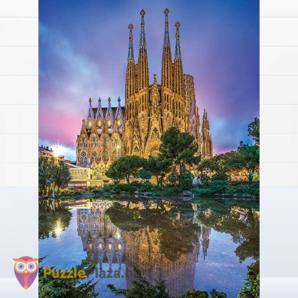 500 darabos Sagrada Família Puzzle Barcelónában - Clementoni High Quality Collection 35062
