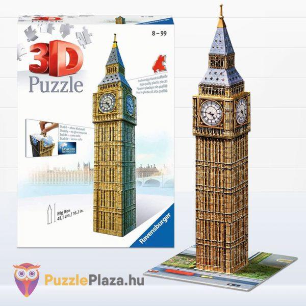216 darabos 3D Big Ben Puzzle - Ravensburger 12554