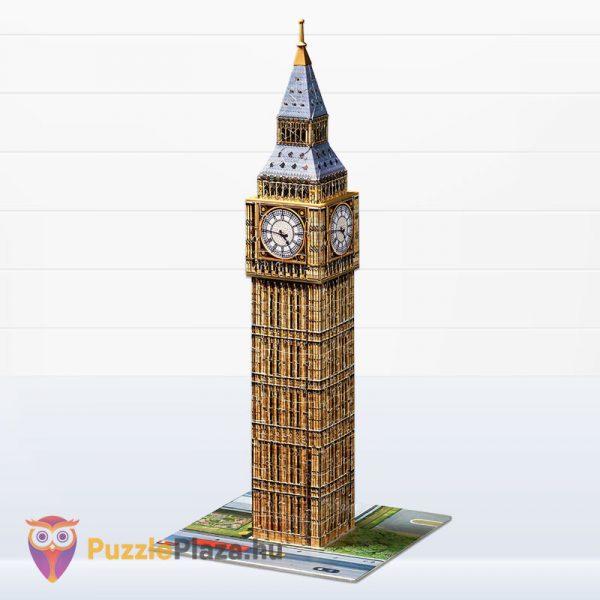216 darabos 3D Big Ben Puzzle - Ravensburger 12554 megépítve
