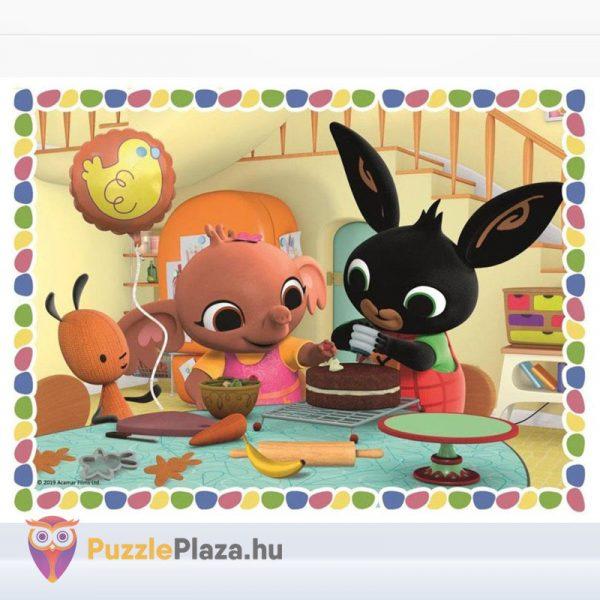 30 darabos Bing és barátai tortakészítés közben puzzle - 30 db - Trefl kirakott képe