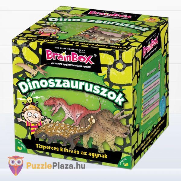Brainbox - Dinoszauruszok memóriajáték doboza