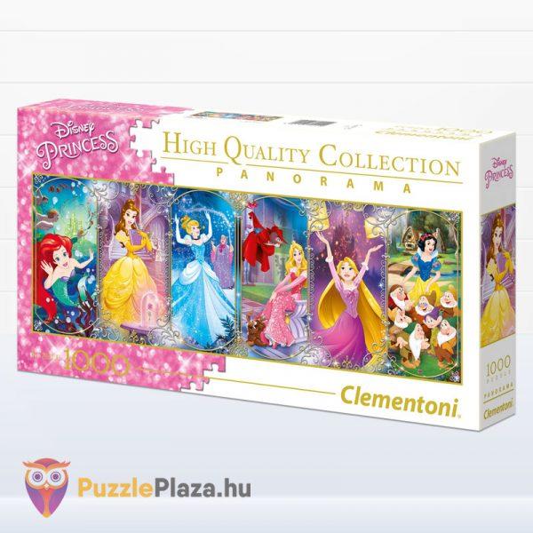 1000 darabos Disney Princess (hercegnők) - Clementoni 39444 balról