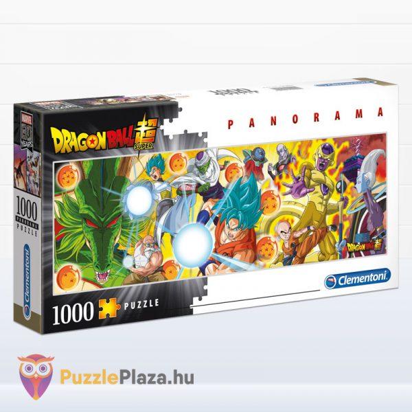 1000 darabos Dragon Ball panoráma puzzle (kirakó) - Clementoni 39486
