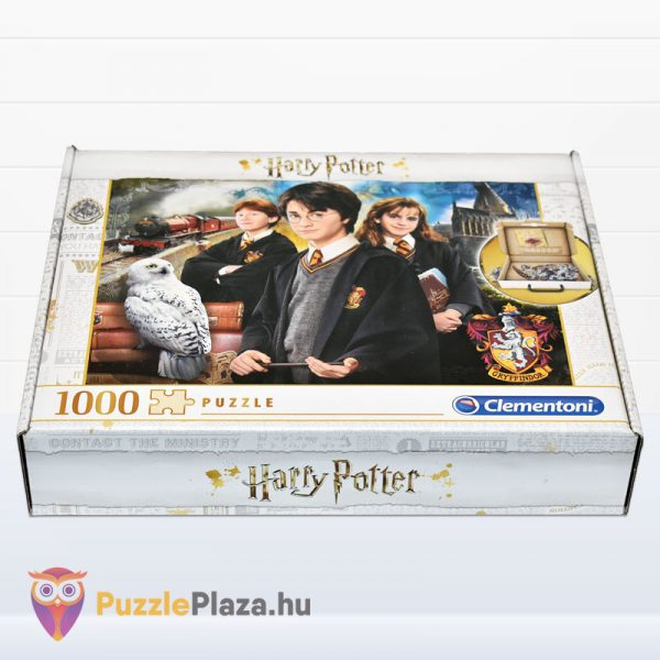 1000 darabos Harry Potter puzzle fektetve - Clementoni 61882