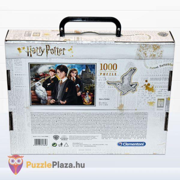 1000 darabos Harry Potter puzzle hátulról - Clementoni 61882