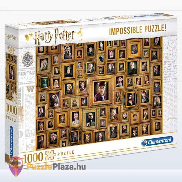 1000 darabos Harry Potter Lehetetlen Puzzle, Clementoni 61881