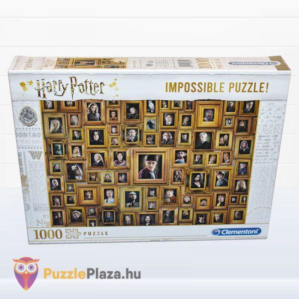 1000 darabos Harry Potter Lehetetlen Puzzle, Clementoni 61881 előről