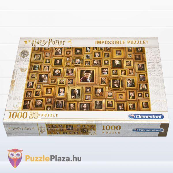1000 darabos Harry Potter Lehetetlen Puzzle, Clementoni 61881 fektetve