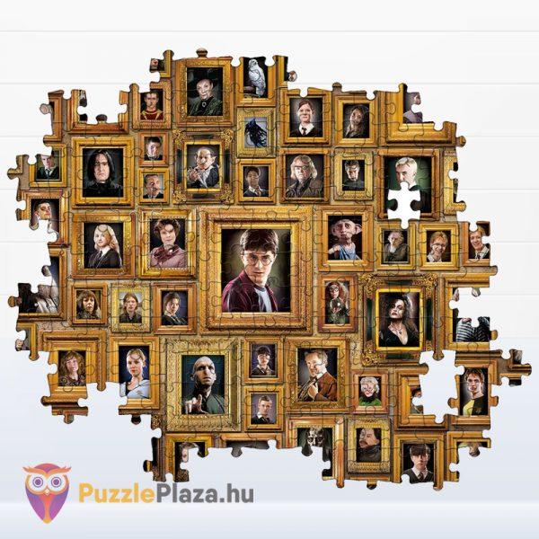 1000 darabos Harry Potter Lehetetlen Puzzle, Clementoni 61881 kirakó részlete