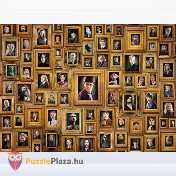 1000 darabos Harry Potter Lehetetlen Puzzle, Clementoni 61881 kirakott képe