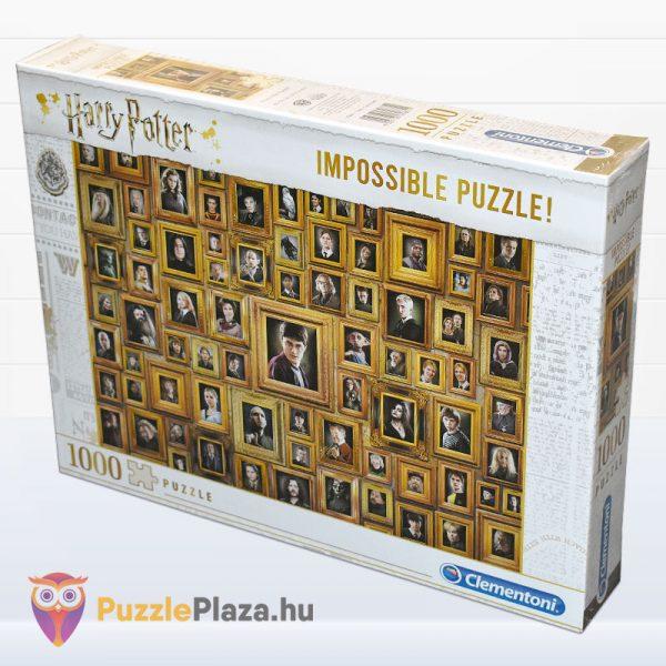 1000 darabos Harry Potter Lehetetlen Puzzle, Clementoni 61881 oldalról