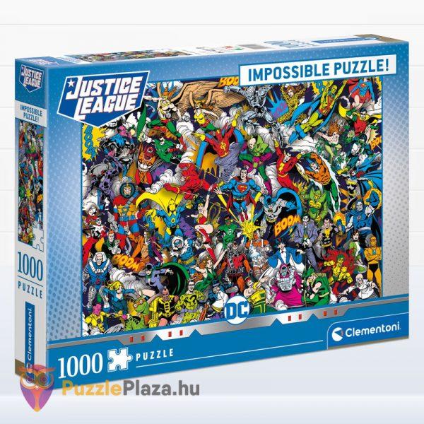 Igazság Ligája (Justice League) - A Lehetetlen Puzzle 1000 db - Clementoni 39599
