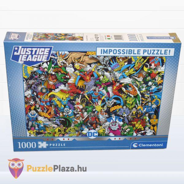 Igazság Ligája (Justice League) - A Lehetetlen Puzzle 1000 db - Clementoni 39599 előről