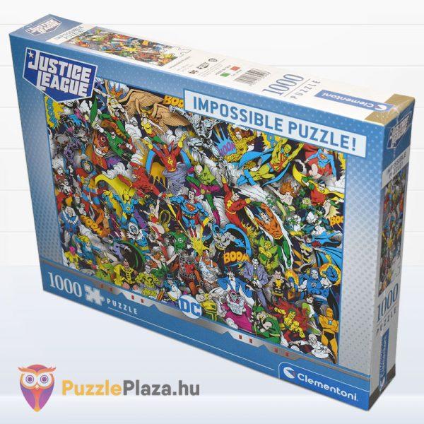 Igazság Ligája (Justice League) - A Lehetetlen Puzzle 1000 db - Clementoni 39599 oldalról