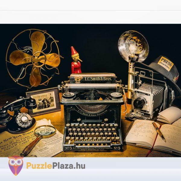 500 darabos írógép puzzle - Clementoni High Quality Collection 35040 kirakott képe
