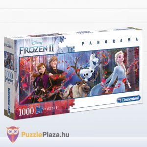 1000 darabos jégvarázs 2 panoráma puzzle - Clementoni 39544