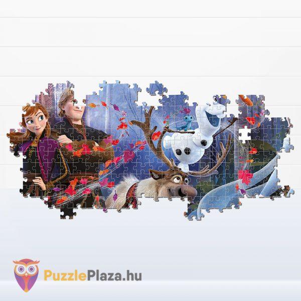 1000 darabos jégvarázs 2 panoráma puzzle - Clementoni 39544 kirakó részlet