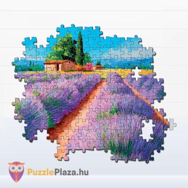 500 darabos levendula mező festmény puzzle kirakó részlete - Clementoni 35073