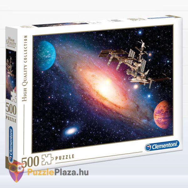 500 darabos Nemzetközi Űrállomás puzzle - Clementoni 35075