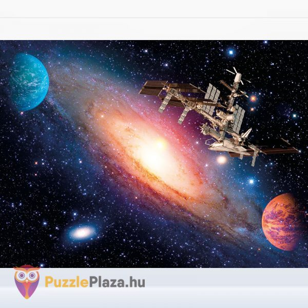 500 darabos Nemzetközi Űrállomás puzzle - Clementoni 35075 kirakott kép