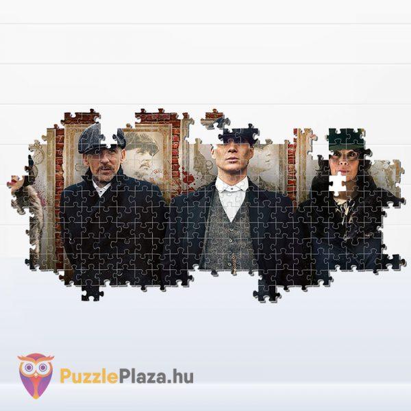 1000 darabos Peaky Blinder panoráma puzzle - Clementoni 39567 kirakózás közben