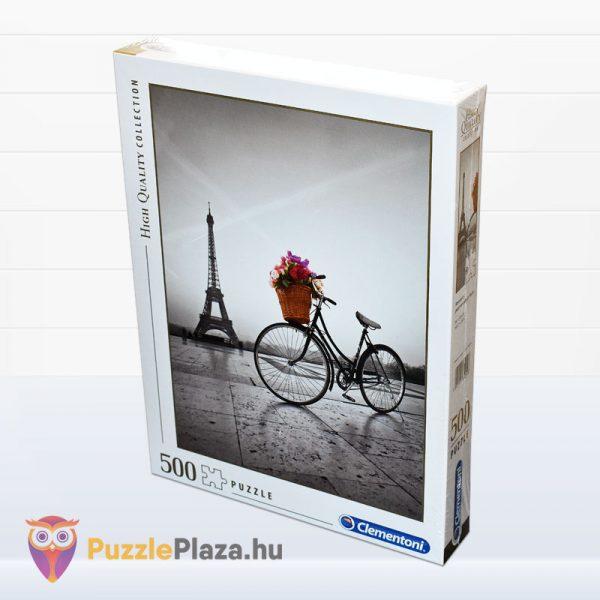 500 darabos romantikus Eiffel-torony puzzle - Clementooni High Quality Collection 35014 balról