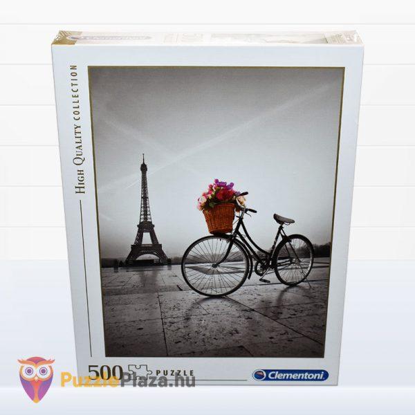 500 darabos romantikus Eiffel-torony puzzle - Clementooni High Quality Collection 35014 előről
